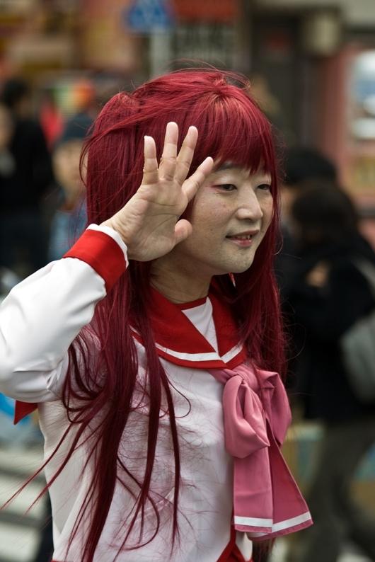 Schoolgirl Drag