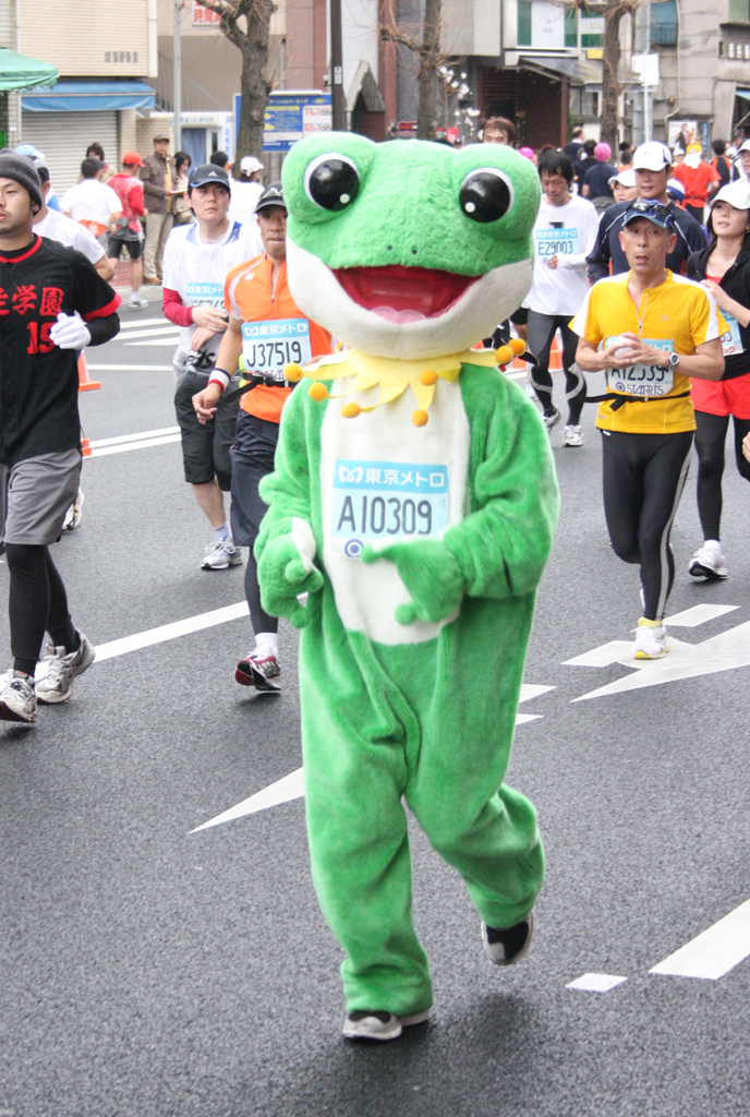 marathon-frog
